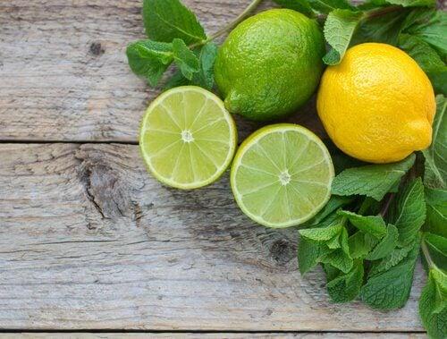 Limão contra os unheiros