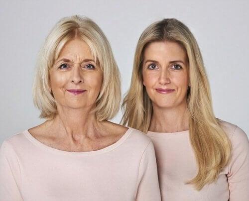 Mãe e filha sem acidente cerebrovascular
