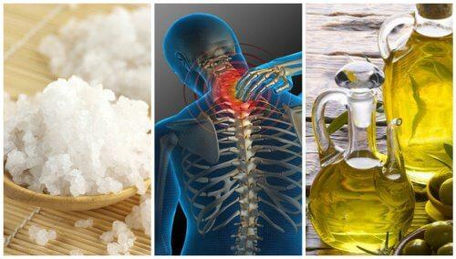 Um maravilhoso tratamento com sal e azeite contra as dores articulares
