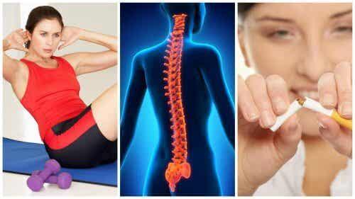 8 conselhos para manter a coluna vertebral forte e saudável