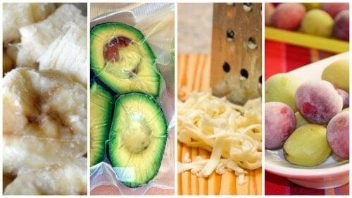 9 alimentos que você não sabia que podem ser congelados