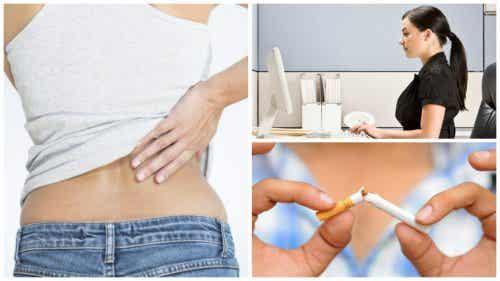 9 formas naturais para combater a dor lombar aguda
