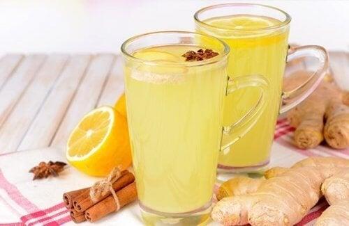 Combata as infecções e dissolva os cálculos renais com chá de gengibre