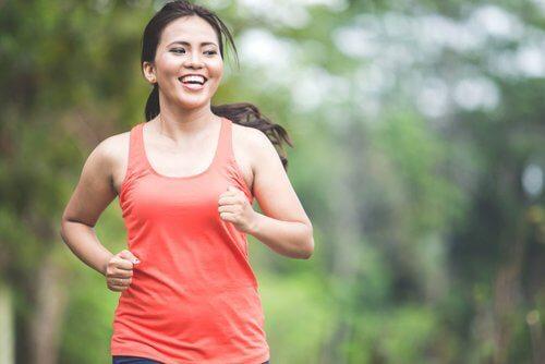 Correr elimina as farinhas do corpo
