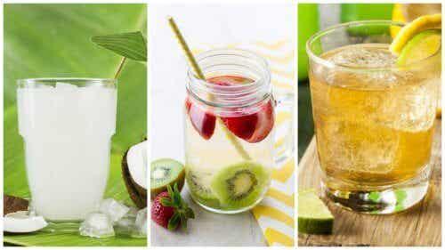 Limpe seu corpo e perca peso com estas 5 águas depurativas