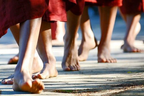 Aprenda a meditar enquanto caminha