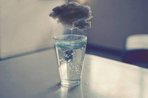 Chuva em um copo