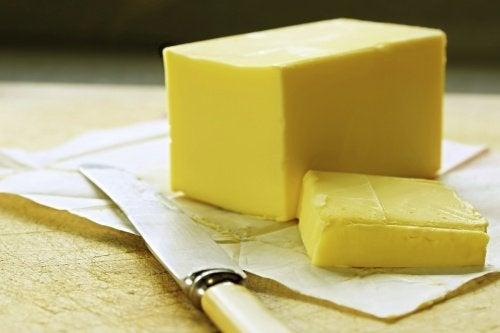 Manteiga sem congelar