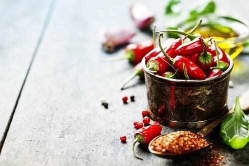 Evitar consumir pimenta se tiver bexiga hiperativa