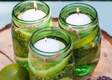 Como fazer duas velas aromáticas excelentes para repelir insetos