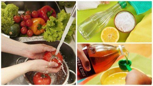 Os 7 melhores truques para desinfetar frutas e legumes
