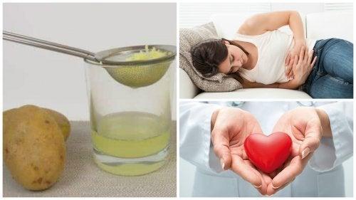 8 benefícios incríveis do suco de batata crua