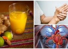 8 benefícios interessantes que você obtém tomando suco de cúrcuma