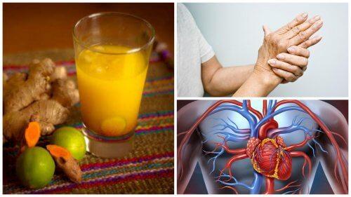 Suco de cúrcuma: 8 benefícios interessantes