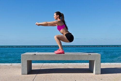 Exercício para tonificar o corpo em casa