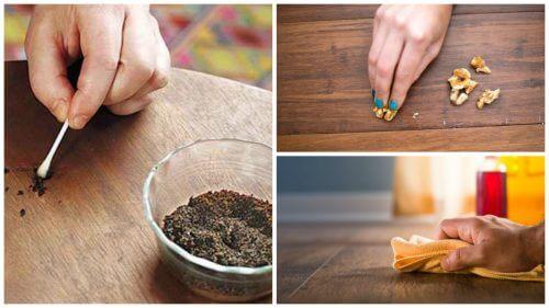 8 soluções para os arranhões nos móveis de madeira