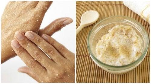 Como preparar um esfoliante natural de açúcar para suavizar a pele
