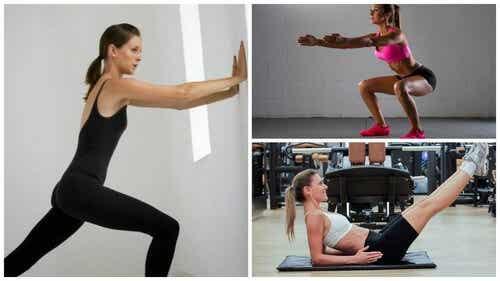 6 exercícios que ajudam a fortalecer o corpo sem usar máquinas ou pesos