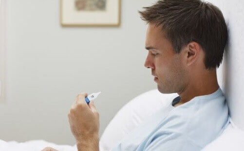 A febre pode ser sinal de problemas nos pulmões
