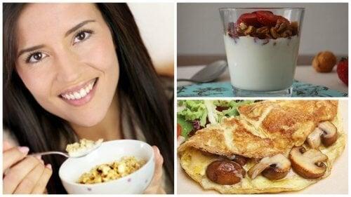 Ideias para montar um café da manhã proteico