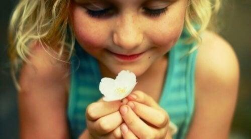 Frasco da felicidade para as crianças