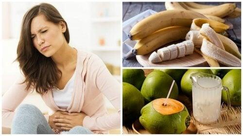 Alimentos ideais para aliviar a dor de estômago
