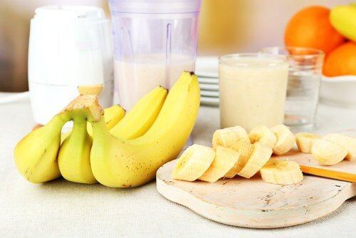 Bananas dão sono depois de comer