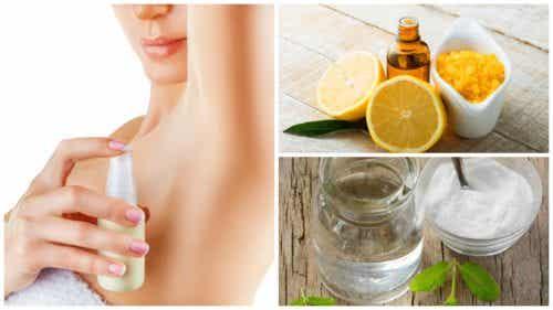 Prepare seu próprio desodorante natural com estas fórmulas caseiras
