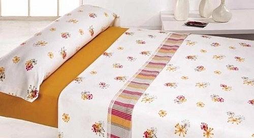 Colchão com lençol
