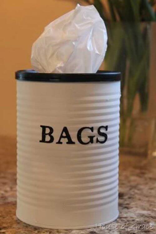 Porta lenço reciclado