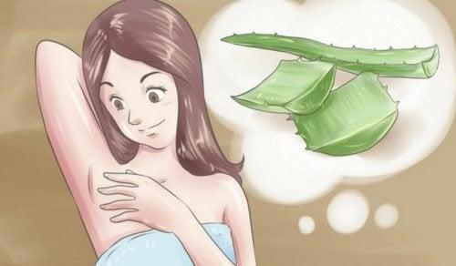 Desodorantes naturais para o mau cheiro nas axilas