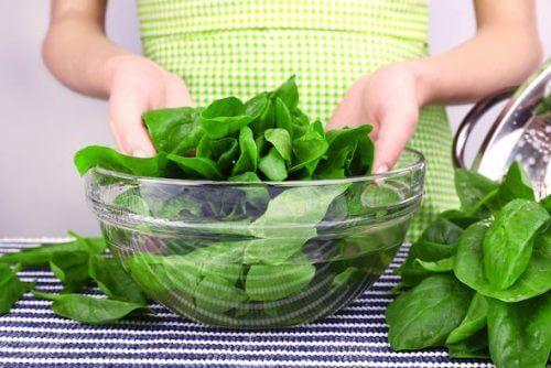 Vegetais de folhas verdes controlam o colesterol