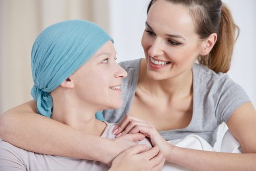 Apoio à paciente com câncer