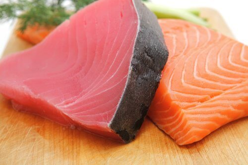 Peixe azul para controlar a hipertensão
