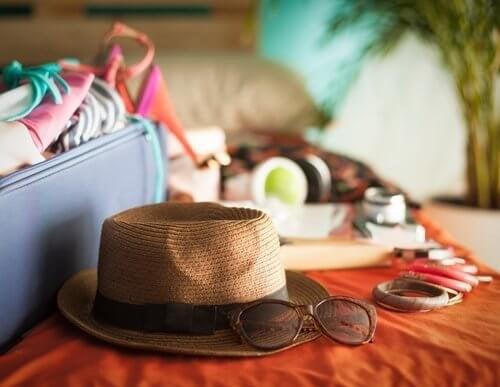 Mala para sair de férias