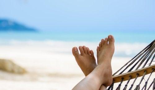 Pessoa de férias