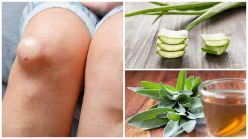 Os 5 melhores remédios anti-inflamatórios para eliminar a água no joelho