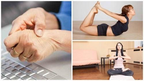 Alivie dores no túnel do carpo com exercícios de ioga