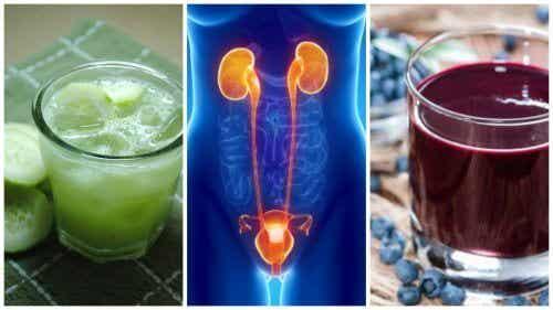5 bebidas medicinais contra a infecção urinária