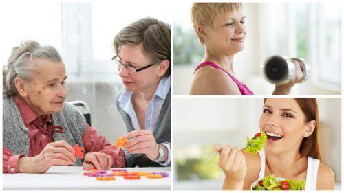 6 bons hábitos que ajudam a reduzir o risco de demência