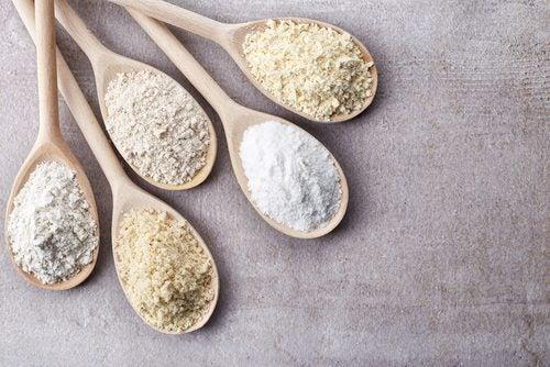 Evitar comer farinhas para curar a mucosidade
