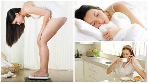Hábitos matinais que podem nos fazer ganhar peso