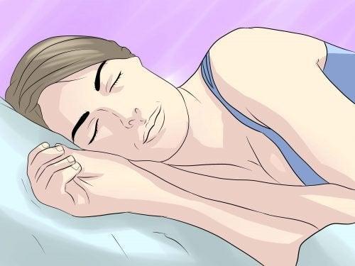 A posição em que dormimos nos diz muitas coisas
