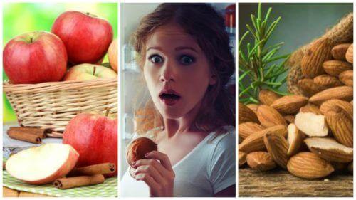Os 7 alimentos que atuam como redutores de apetite quando você está com ansiedade