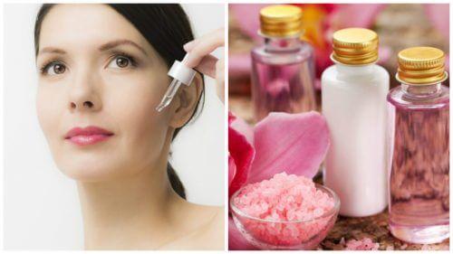 Firme e rejuvenesça a pele com estes 4 séruns naturais