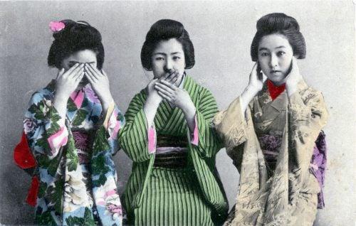 Releitura dos três macacos sábios