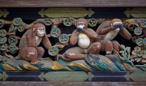 O ensinamento dos três macacos sábios: um convite à reflexão