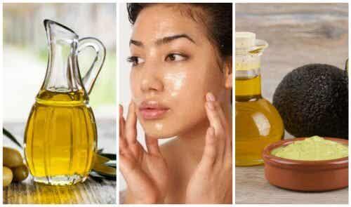 Máscara de azeite de oliva para cuidar da sua pele em casa