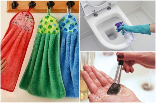 9 itens de casa que devem ser lavados todos os dias