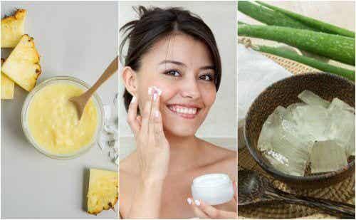 5 tratamentos naturais para dar firmeza à pele do rosto